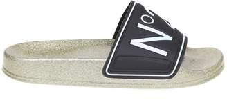 N°21 N.21 N 21 Slippers Pool Slides In Rubber With Logo
