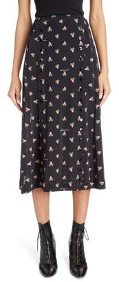 Marc Jacobs THE The Button Up Midi Skirt