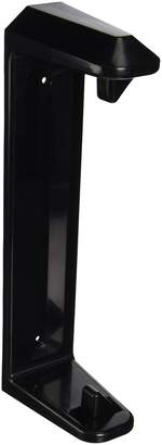 Rubbermaid Cabinet Door Mounted Paper Towel Holder, Black