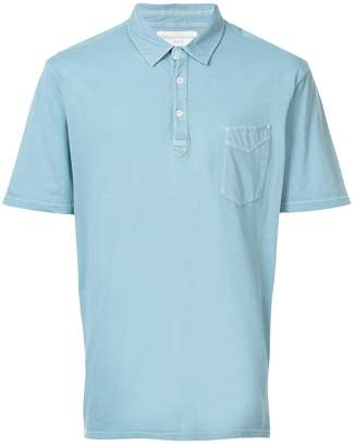 Officine Generale short-sleeve polo top