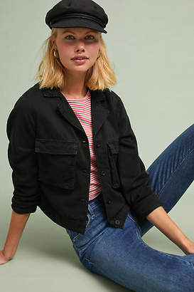 Cloth & Stone Cropped Military Jacket