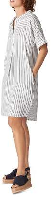Whistles Sabrina Striped Dress