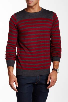 Yoki Striped Pullover Sweater $65 thestylecure.com
