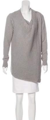 Barneys New York Barney's New York Draped Knit Cardigan