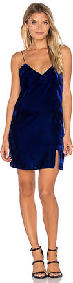 Line & Dot Natalie Slip Dress in Blue $110 thestylecure.com