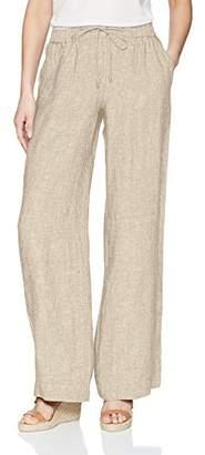 Jones New York Women's Linen Easy Pant