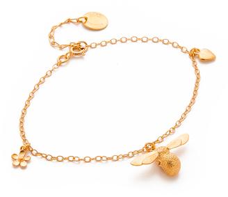 Alex Monroe Charm Bracelet $291 thestylecure.com