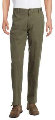 Dockers Washed Khaki Classic-Fit Flat-Front Pant
