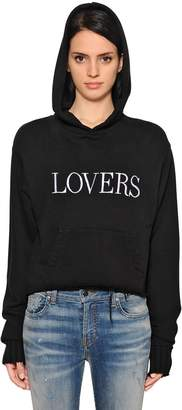 Amiri Lovers Cotton & Cashmere Sweatshirt