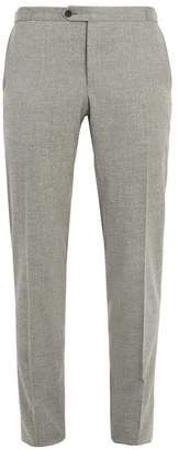 Thom Sweeney - Brook Slim Leg Wool And Cashmere Blend Trousers - Mens - Light Grey