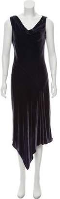 Amanda Wakeley Cowl Neck Sleeveless Dress