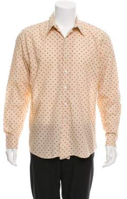 Paul Smith Abstract Print Button-Up Shirt