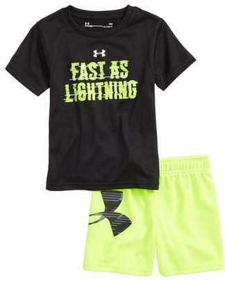 Under Armour Fast As Lightning Shirt & Shorts Set