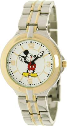Disney Men's MCK168 Two-Tone Two-tone Stainless-Steel Quartz Watch with Dial