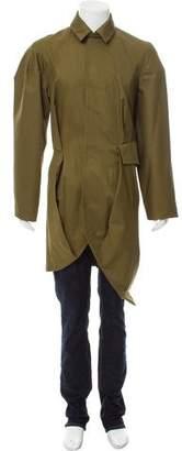 J.W.Anderson Asymmetrical Twill Coat