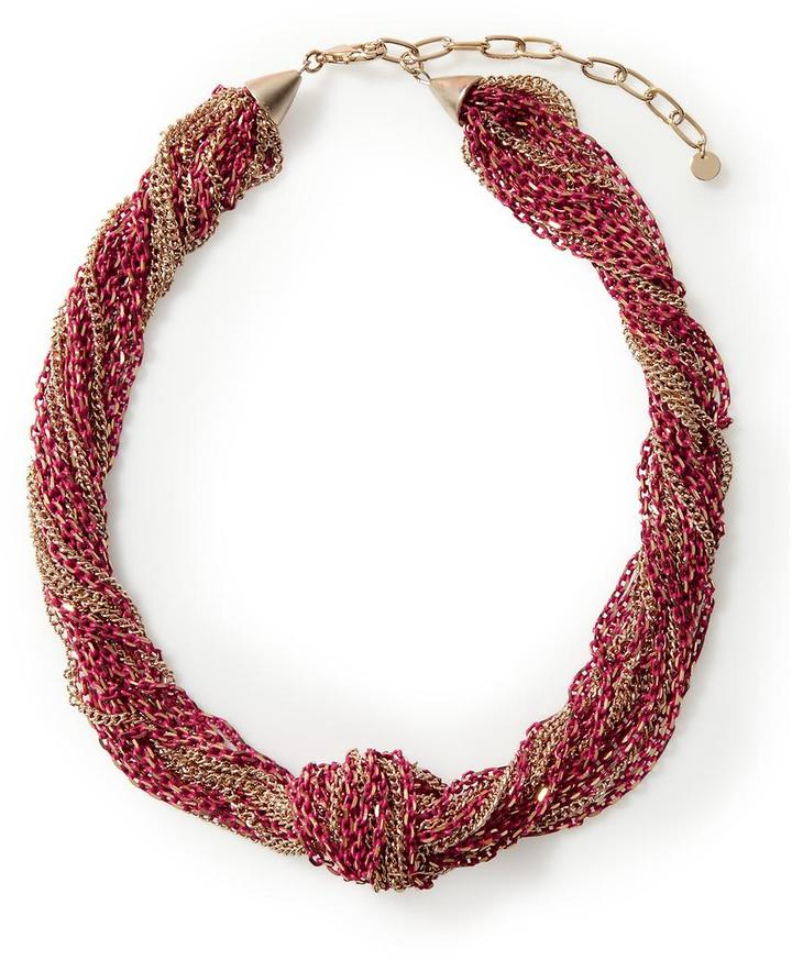 Pim + Larkin Knotted Link Chain