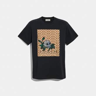 Coach Signature Skull T-Shirt