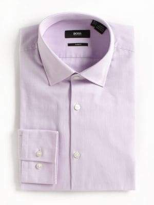 HUGO BOSS Slim-Fit Cotton Dress Shirt
