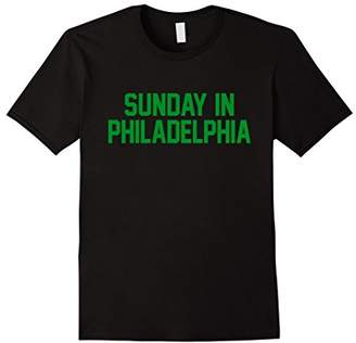 Sunday in Philadelphia Football Gameday T-Shirt