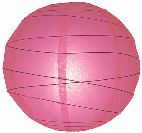 Pink Paper Lantern - Set of Six