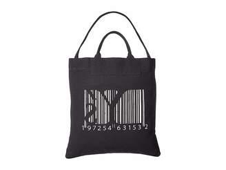 Yohji Yamamoto Y's by Barcode Print Tote