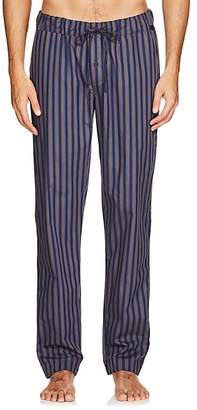 Hanro Men's Night & Day Striped Cotton Lounge Pants