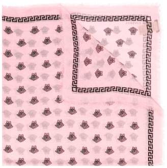 Versace Medusa motif scarf