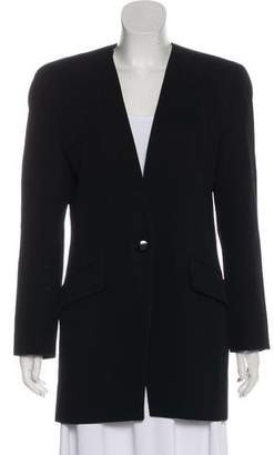 Christian Dior The Suit Wool Blazer