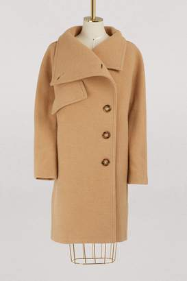 Acne Studios Funnel neck wool coat