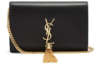 Saint Laurent - Kate Small Smooth Leather Cross Body Bag - Womens - Black