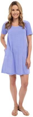 Fresh Produce Pinstripe Allure T-Shirt Dress Women's Dress