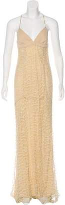Narciso Rodriguez Mesh Maxi Dress