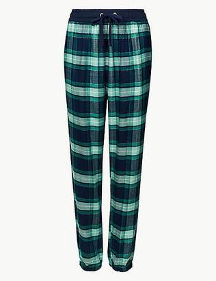 Marks and Spencer Checked Long Pant Pyjama Bottoms