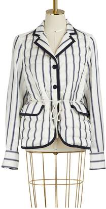 Moncler Maila striped jacket