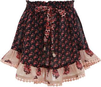 Zimmermann Jaya Flounce Skirt