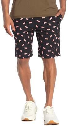 Sovereign Code Ramble Pineapple Print Shorts