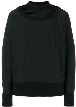 Odeur layered look sweatshirt