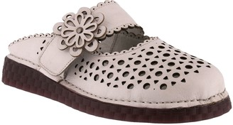 Spring Step L'Artiste by Leather Mules - Smoosh