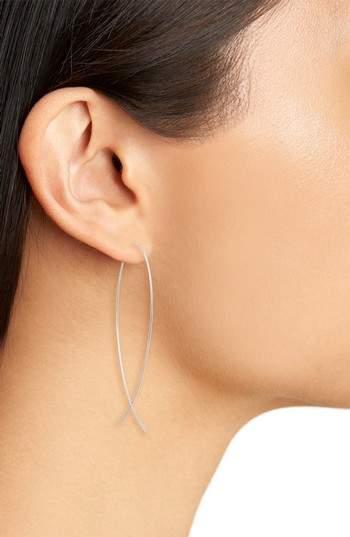 Lana 'Large Upside Down' Hoop Earrings