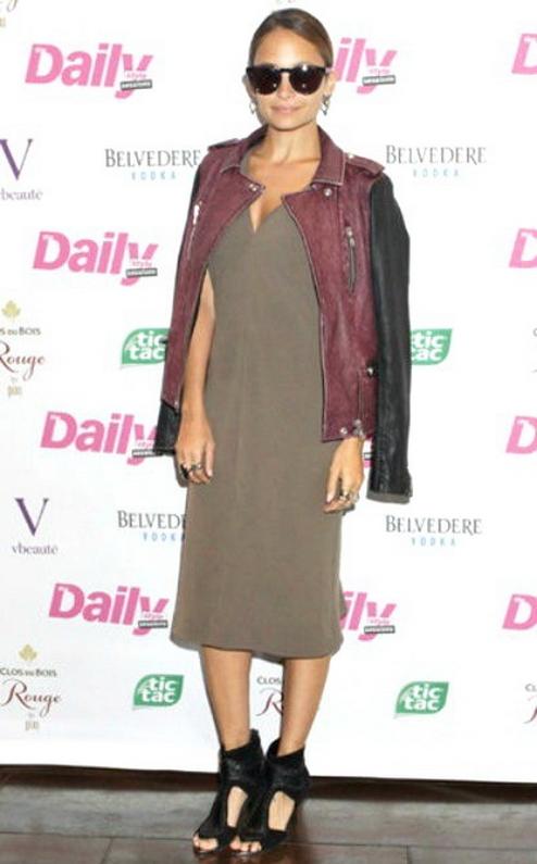 IRO Anabela Leather Jacket - as seen on Nicole Richie -