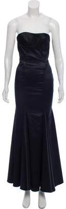 Just Cavalli Silk Evening Dress