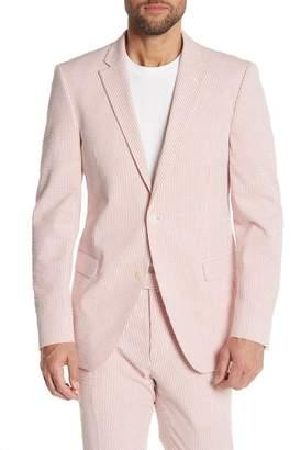 Tommy Hilfiger Striped Seersucker Slim Fit Jacket