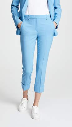 Theory Crop Cuff Pants