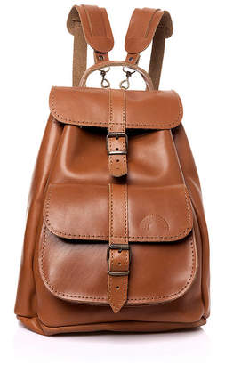 Iris Leather Backpack