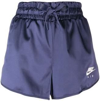 Nike elasticated track shorts