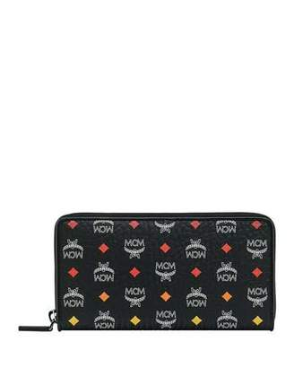 MCM Spektrum Visetos Zip-Around Wallet