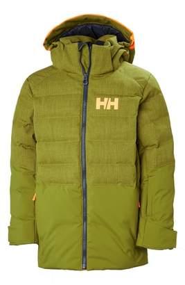 Helly Hansen Jr. North Waterproof & Windproof 480-Fill Power Down Jacket