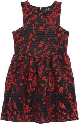 Bardot Junior Mercer Embroidered Fit & Flare Dress