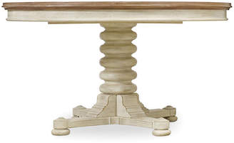 """One Kings Lane Isabelle 54-72"""" Dining Table - Sand/White"""