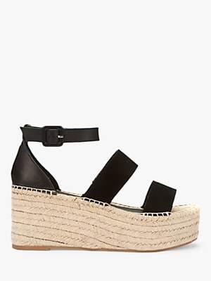 f987b23f790 Mint Velvet Georgia Triple Strap Flatform Sandals